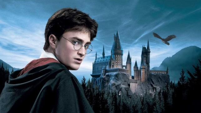 Daniel Radcliffe in un poster di Harry Potter