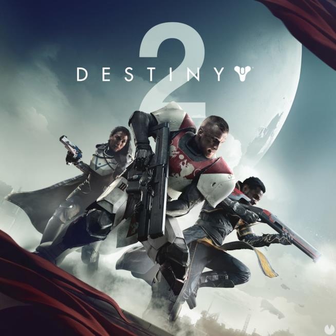 La copertina ufficiale di Destiny 2