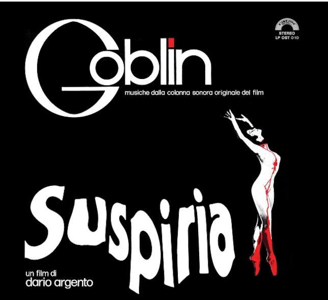La copertina della colonna sonora di Suspiria realizzata dai Goblin