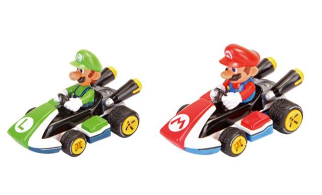 Le Pull & Speed Circuit dedicate a Mario e Luigi