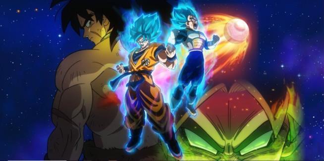 Locandina film Dragon Ball Super Broly