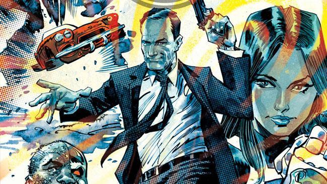 Phil Coulson e la sua squadra in Agents of S.H.I.E.L.D. #1