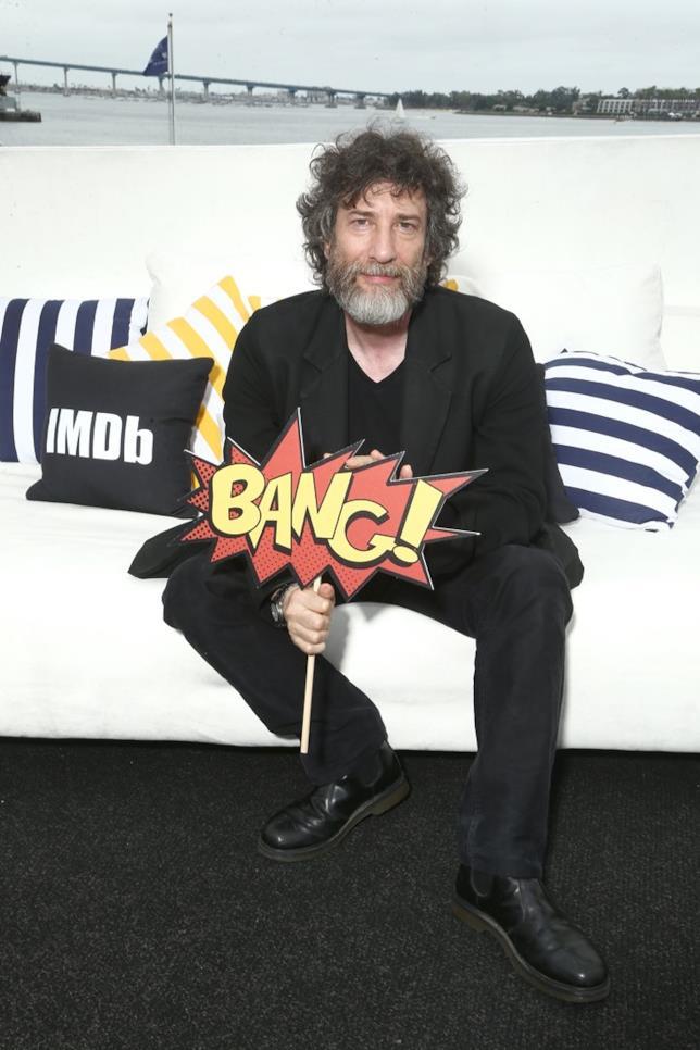Neil Gaiman al Comic-Con del 2018