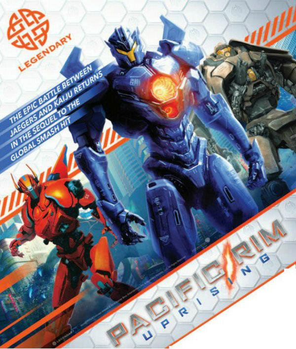 I nuovi Jaeger in Pacific Rim: Uprising
