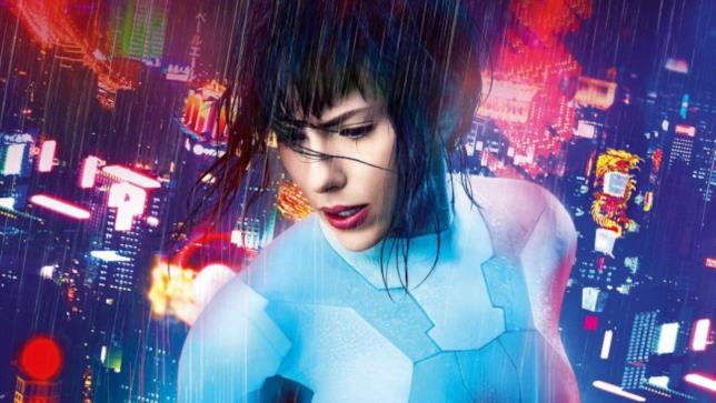 La protagonista di Ghost in the Shell