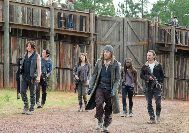 Alcuni protagonisti di The Walking Dead