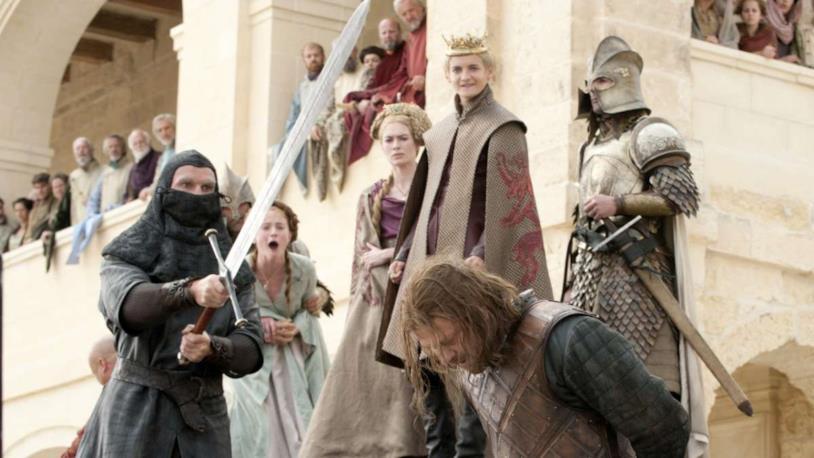 GoT: l'esecuzione di Ned Stark