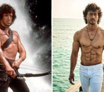 Tiger Shroff e Sylvester Stallone nei panni di Rambo