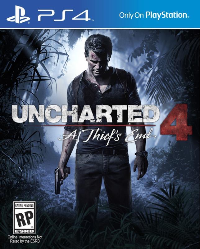 Copertina di Uncharted 4