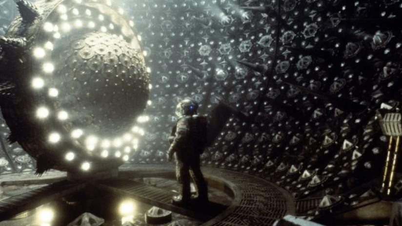 Un frame preso dal film Event Horizon