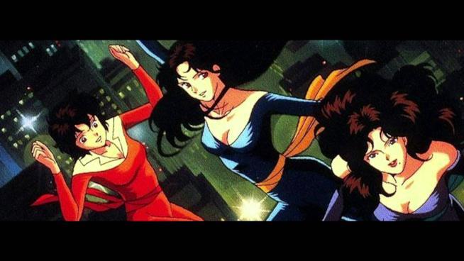 Le tre sorelle protagoniste dell'anime Occhi di Gatto