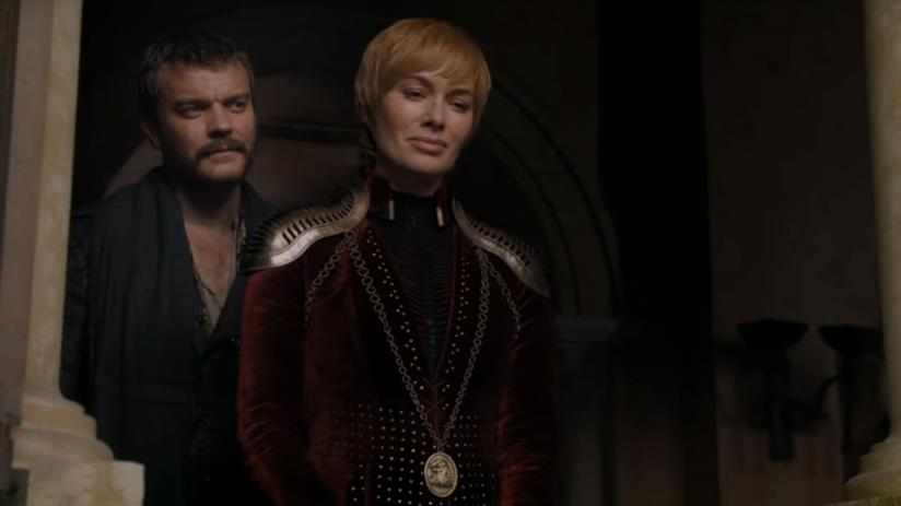 Euron Greyjoy e Cersei Lannister