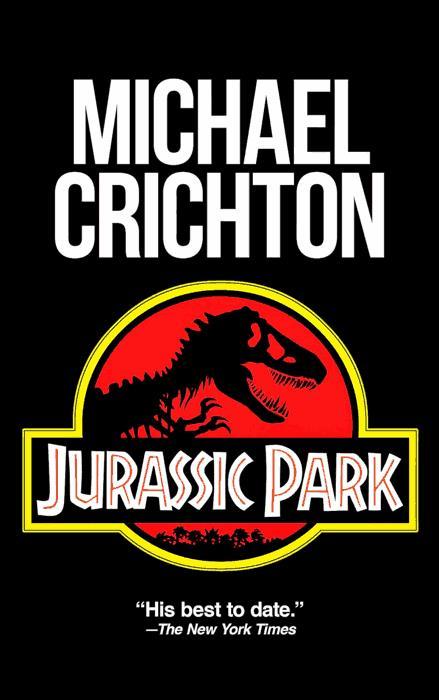 Copertina del libro Jurassic Park