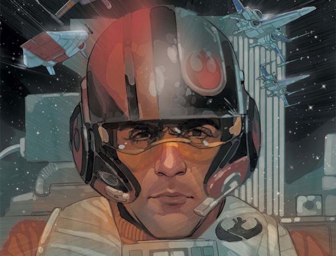 Poe Dameron sul fumetto Marvel