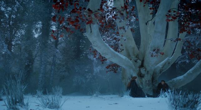 Bran e Sansa a Grande Inverno