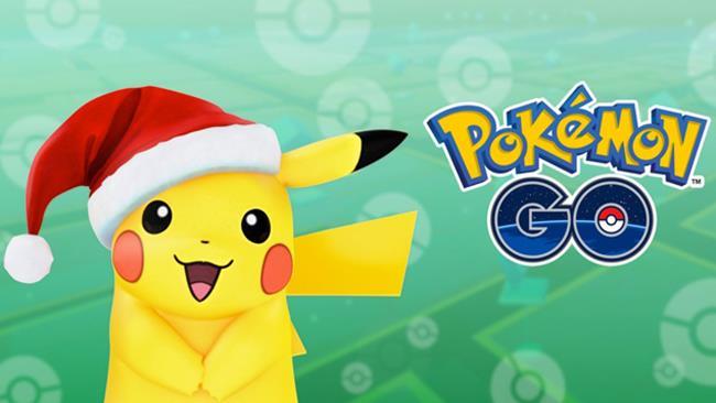 Pikachu natalizio, Pokémon GO