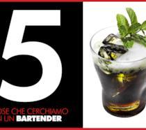 Bartendency: le 5 cose che cerchiamo in un barman