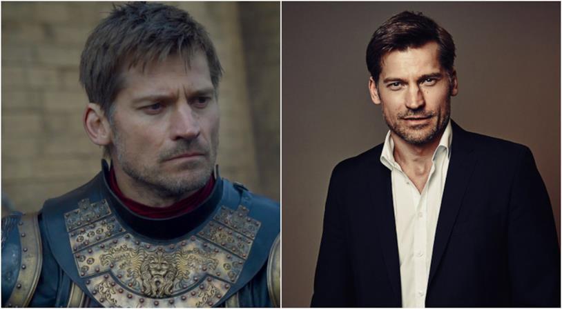 Un collage tra Nikolaj Coster-Waldau e Jamie Lannister