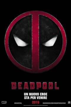 Poster col simbolo di Deadpool