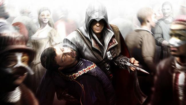 Ezio Auditore nel primo capitolo della saga