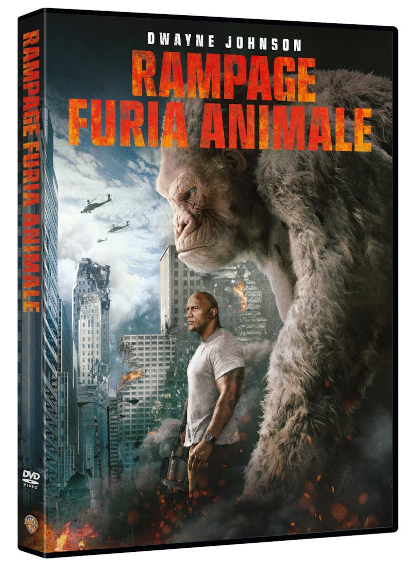 Rampage - Furia Animale in versione DVD