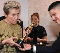 Frances McDormand torna in possesso del suo Oscar dopo la brutta avventura