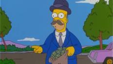 Homer il racchettaro