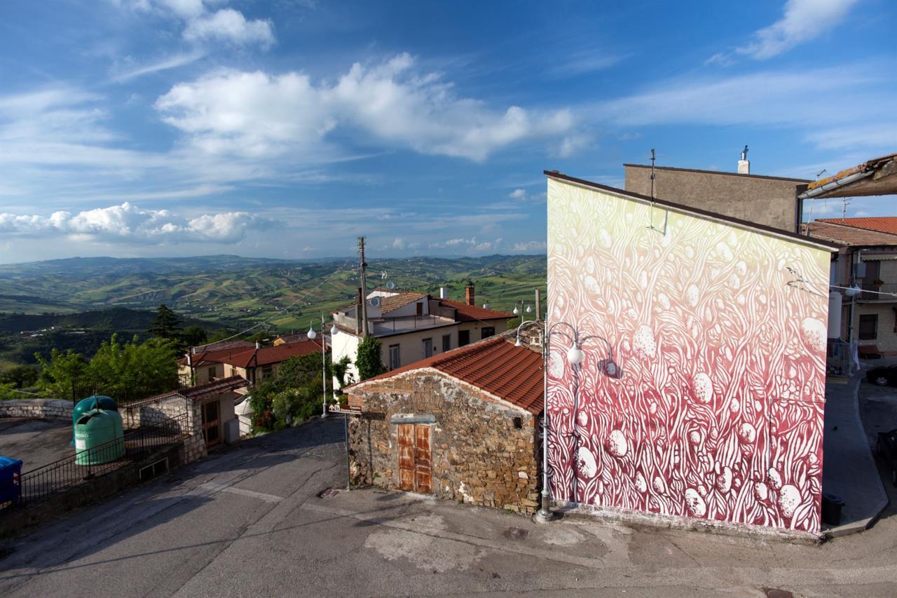 Murale realizzato a Bonito Da Tellas