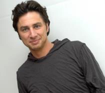 L'attore Zach Braff