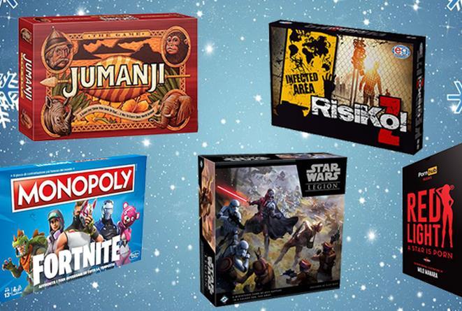 Alcuni dei 10 giochi da tavolo da regalare a Natale