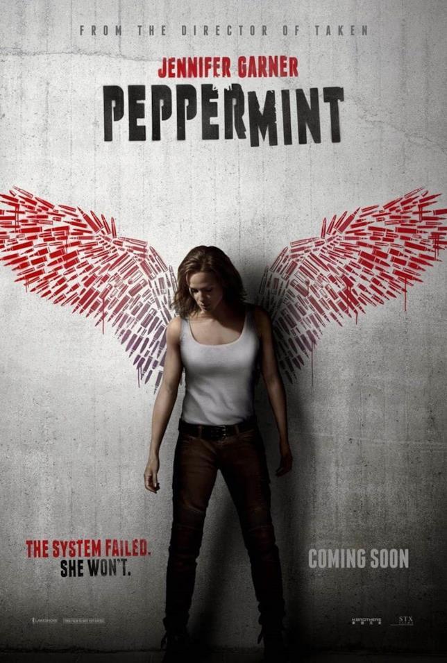 La locandina di Peppermint