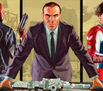 Un artwork ufficiale di Grand Theft Auto V