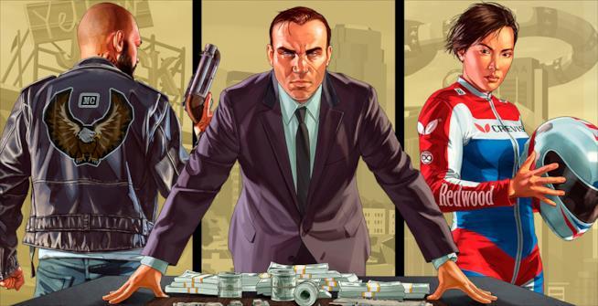 Un artwork ufficiale di Grand Theft Auto V