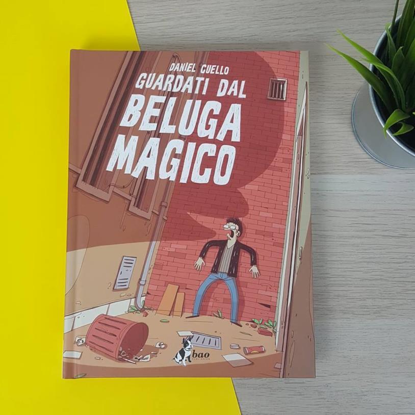 La copertina di Guardati dal beluga magico