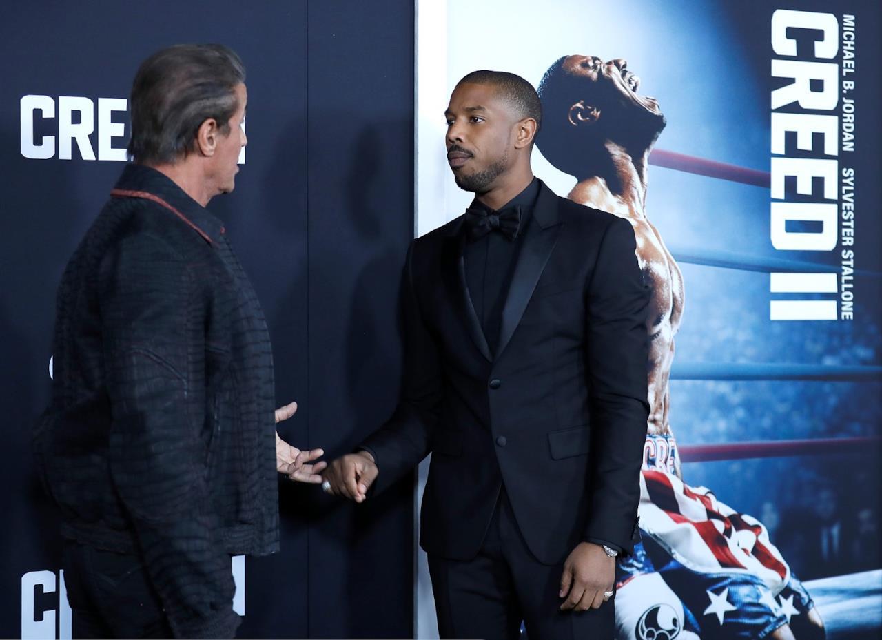 Sylvester Stallone e Michael B. Jordan sono i protagonisti di Creed II