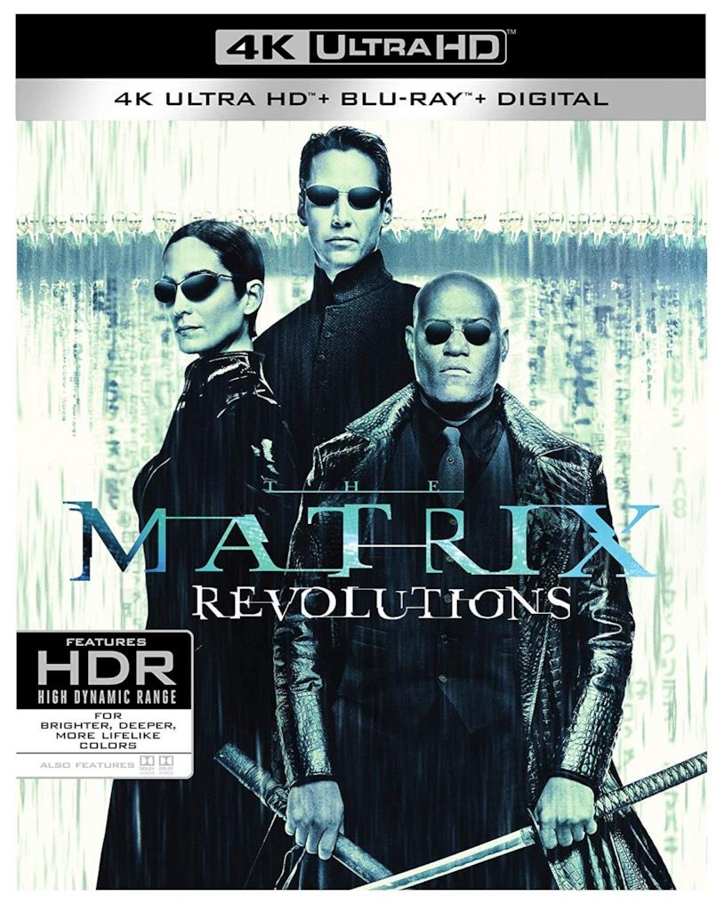 Matrix Revolutions - 4K Ultra HD