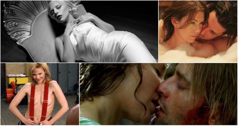 Collage tra Grey's Antomy, Sex and the City, Lost e American Horror Story