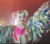 Margot Robbie nei panni di Harley Quinn in Birds of Prey