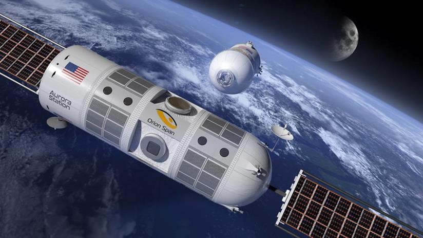 La Stazione spaziale Aurora effettuerà il suo primo lancio entro il 2022 (Orion Span)