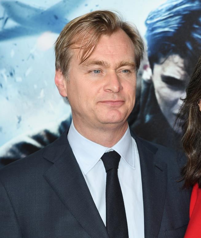 Christopher Nolan alla prima di Dunkirk