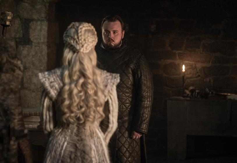 Sam incontra Daenerys in GoT 8x01
