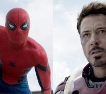 Il nuovo Spider-Man e Iron Man in Civil War