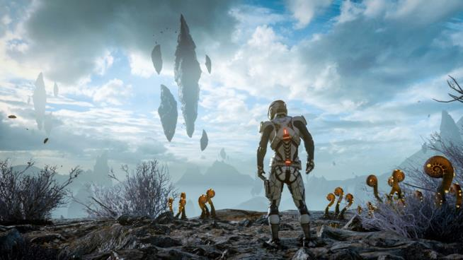 Una fase esplorativa in Mass Effect: Andromeda
