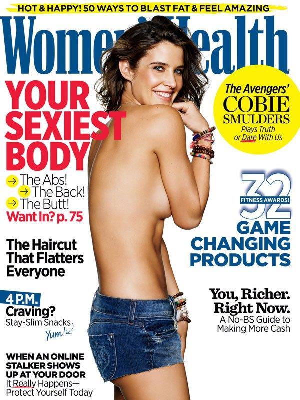 Cobie Smulders sulla copertina di Women's Health