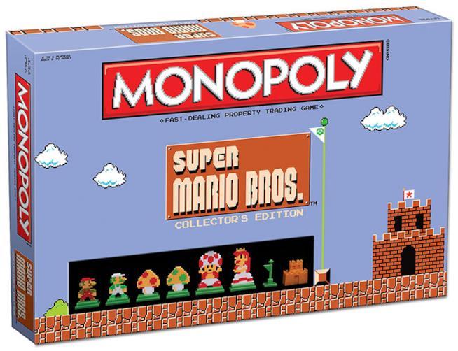 Scatola del Monopoly a tema Mario Bros.