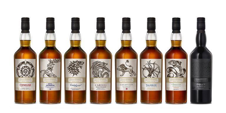 I whisky ufficiali di Game of Thrones arrivano in Italia