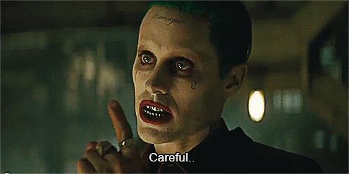 Una gif sul Joker di Jared Leto