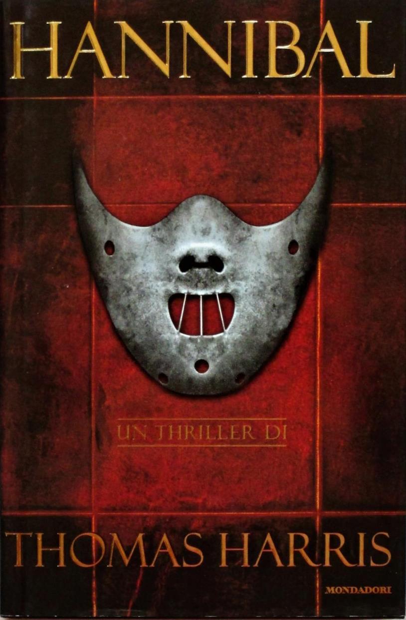 La copertina dell'edizione italiana di Hannibal di Thomas Harris