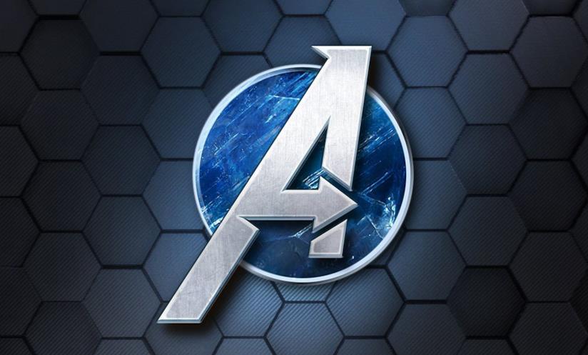 Il logo del videogioco Marvel's Avengers di Square Enix