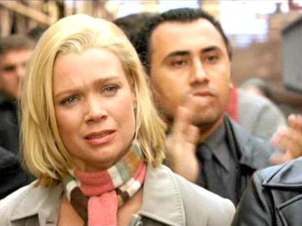 Laurie Holden nel film